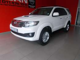2013 Toyota Fortuner 3.0 D4D Raised Body Auto 4x2