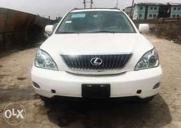 Rx 350 model 2009 Lexus tokunbo foreign used