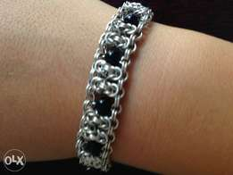 Sterling Silver Chainmaille Bracelet