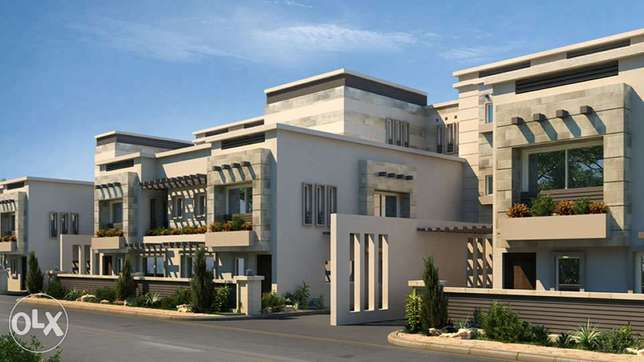 Townhouse for sale 628m Park villa in New Giza - 6th of October