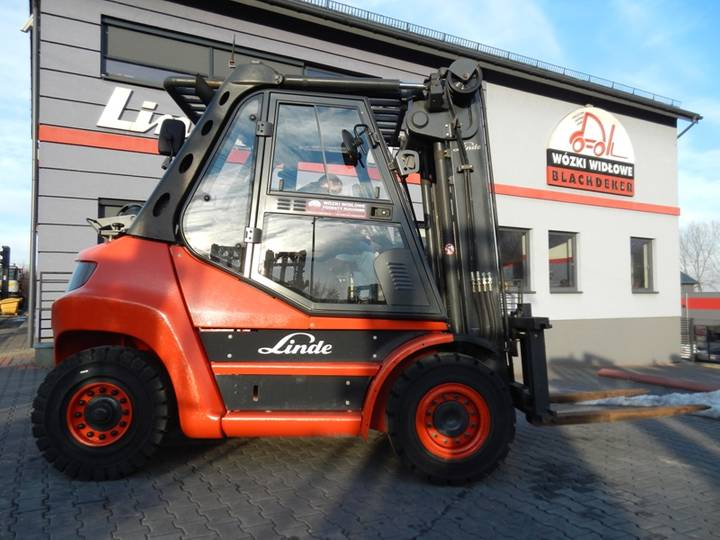 Linde H60T Side shift - 2013