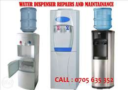 Water dispenser Repairs and sanitisation/cleaning