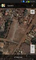 50 by 100 commercial plot in Kamakis asking 5.5m