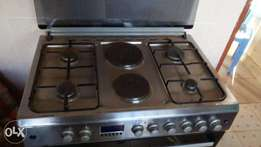 4 Burner Armco Gas cooker with 2 Electric Plates and oven