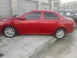 Pepper Red toks Clean Toyota Corolla 4 sale in Lekki for 3m Negotiable