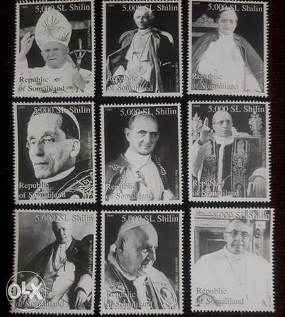 Popes of the 20th Century Stamps