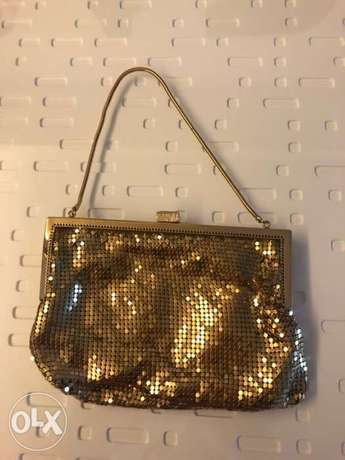 Funky Gold purse, 70s style