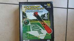 Stomp Rocket Toy with 4 rockets