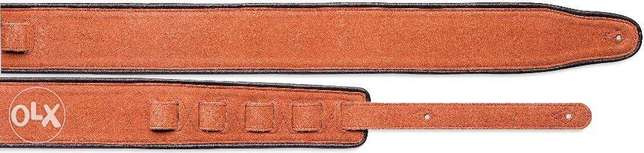 Stagg Leather Guitar Strap