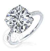 Buy High Quality Delicate cushion AAA Diamond ring