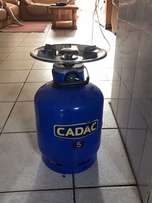 Cadac nr 5 gas cylinder and cooker