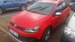 Volkswagen Polo Cross 1.6 TDI 2012 Red
