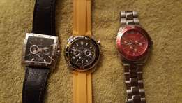Guess and Festina Watches
