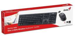 Genius wireless key board and mouse