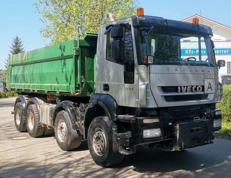 Iveco Trakker 410 / 8X4 / Meiller / Manual - 2009 - image 4