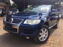 Ex Japan Volkswagen Touareg 2009 Model Leather Interior For Sale 3.78M