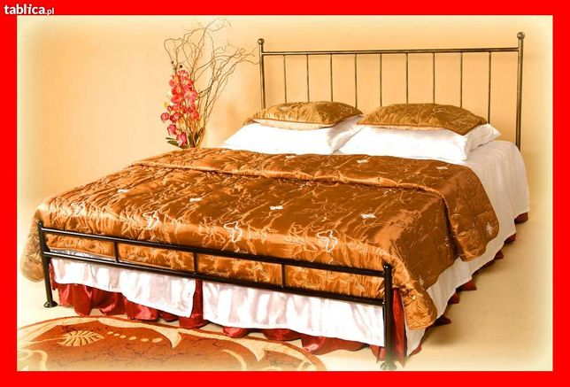 łóżko Metalowe Kute Kajtek 140x200 Lidzbark Warmiński Olxpl