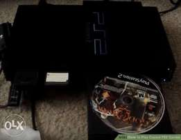Playstation 2 at cheap price with a flash