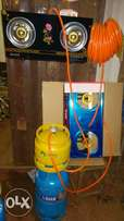 complete gas cylinders fitted wth coocker