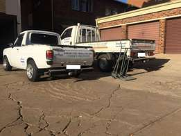 Bakkie AND Truck | Transport | For furniture removals | For hire