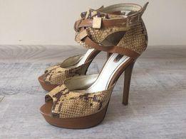 39fa91c53 Кожаные Босоножки miu mau miraton туфли