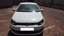 2011 VW Polo Sedan White