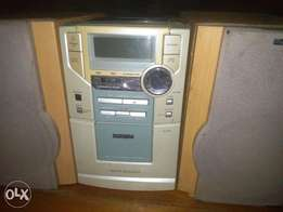 Phillips CD and Cassette Player with AUX and Digital Audio
