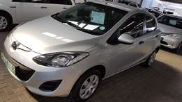**2012 Mazda 2 1.3i Active**5DR** Only 84500km** Affordable/Very Clean