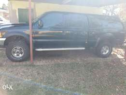 Ford F250 Double Cab with Canopy