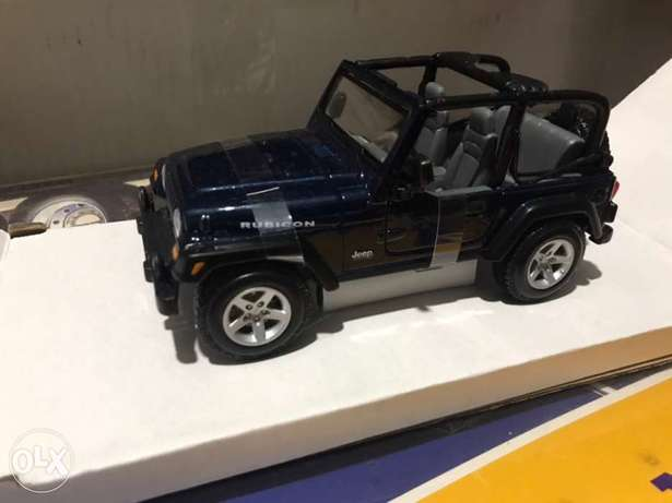 wrangler 1/24 diecast model car