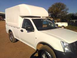 Isuzu kb 250 with volume canopy R99 500