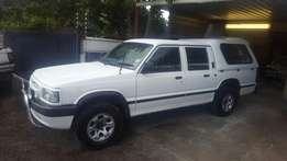 1999 Mazda B2500 Magnum Doublecab, Cape town