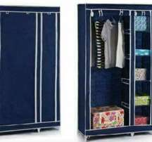 portable wardrobe with cover and zips