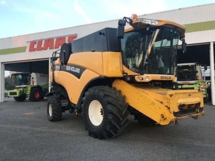 New Holland cx740 - 2002