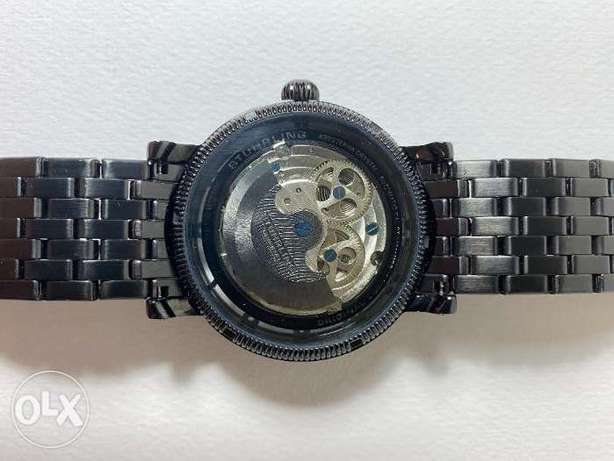 Stuhrling 3923 2 Special Reserve Automatic Dual Time Stainless Steel M الخبر -  3