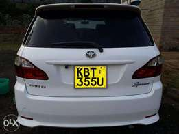 Toyota Ipsum 7 seater in an immaculate condition accident free 1 owner