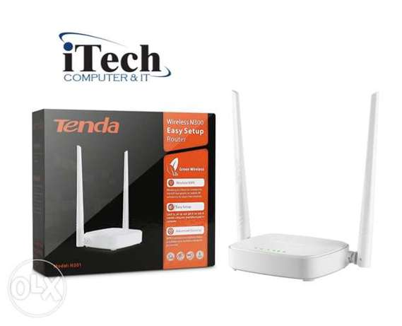 Tenda N301 Router Doble Antenna