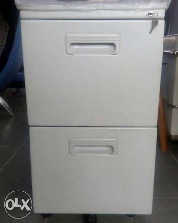 Grey office cabinet Lagos - image 3