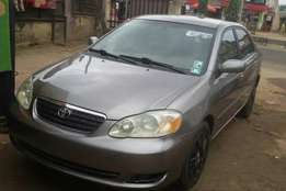 Clean Tokunbo Toyota Corolla 2005 For Sale.