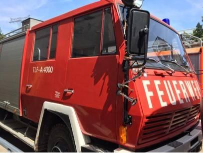 Steyr TLF-A-4000  Feuerwehr, Fire Truck, Fire engine - 1982