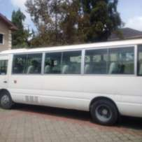 Toyota coaster bus 2014