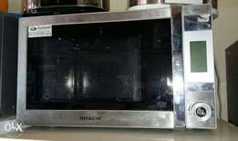 Heavy Stainless steel Hitachi Microwave and Grill