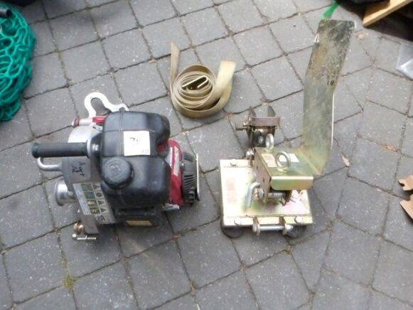 Sale portable winch pcw5000 winch for  by auction - 2010