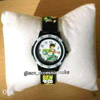 kids boys children's ben 10 wrist watch