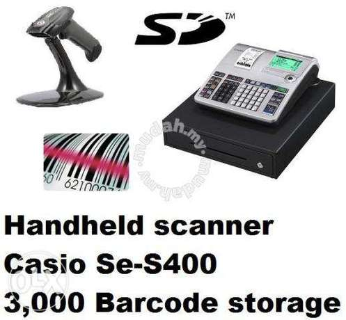 Casio Cash Register with scanner and Arabic support