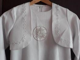 5af514ffa0 Sukienka alba komunijna 140 szyta na wymiar firmy OPUS