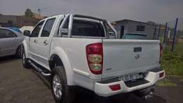 Gwm steed 2.8tc double cab lux, Leather Upholstery, Bakkie, Cruise