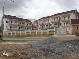 Spaceous 4 bedroom terrace duplex with 2 living rooms & an attached BQ