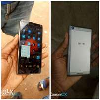 TECNO l8 plus with red 360 protector