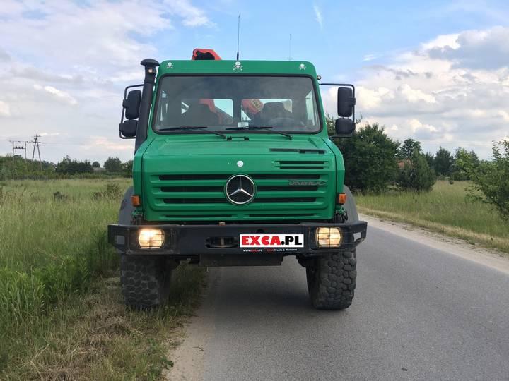 Mercedes-Benz Unimog U 4000 + Crane Palfinger PK6500A - 2007